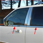 Ford Expedition Chrome Window Sill Trim, 2015, 2016, 2017
