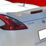 Nissan 370Z Roadster Flush Mount Painted Rear Spoiler, 2010, 2011, 2012, 2013, 2014, 2015, 2016, 2017, 2018