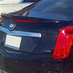 Cadillac CTS Sedan Painted Spoiler (Flush mount), 2014, 2015, 2016, 2017, 2018, 2019