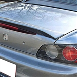 Honda S2000 Lip Mount Painted Rear Spoiler, 2000, 2001, 2002, 2003, 2004, 2005, 2006, 2007