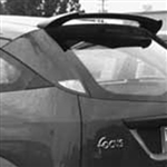 Ford Focus ZX3 / ZX5 Roof Mount Painted Rear Spoiler, 2000, 2001, 2002, 2003, 2004, 2005, 2006, 2007