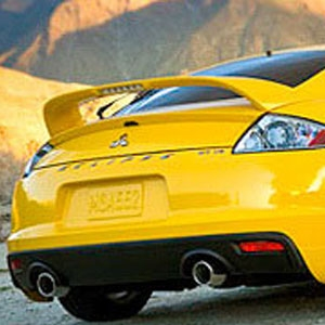 Mitsubishi eclipse painted rear spoiler with light 2006 2007 you fandeluxe Gallery