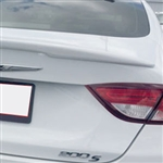 Chrysler 200 Lip Mount Painted Rear Spoiler, 2015, 2016, 2017