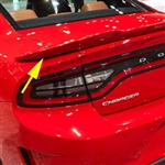 Dodge Charger Hellcat Style Painted Rear Spoiler, 2015, 2016, 2017, 2018