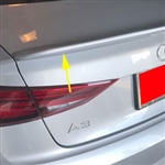 Audi A3 Flush Mount Painted Rear Spoiler, 2017, 2018