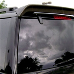 Lincoln Navigator Painted Rear Spoiler, 2007, 2008, 2009, 2010, 2011, 2012, 2013, 2014, 2015, 2016, 2017