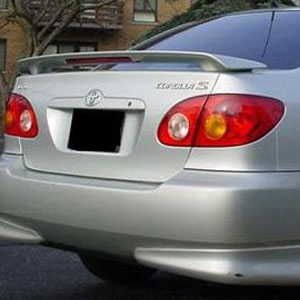 Toyota Corolla 2 Post Painted Rear Spoiler With Light