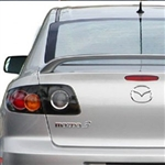 Mazda 3 '2 Post' Painted Rear Spoiler, 2004, 2005, 2006, 2007, 2008, 2009