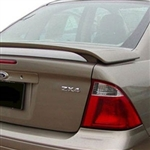 Ford Focus Sedan Painted Rear Spoiler, 2005, 2006, 2007
