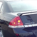 Chevrolet Impala LT Painted Rear Spoiler, 2006, 2007, 2008, 2009, 2010, 2011, 2012, 2013