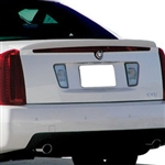 Cadillac STS Painted Spoiler (Flush mount), 2005, 2006, 23007, 2008, 2009, 2010, 2011