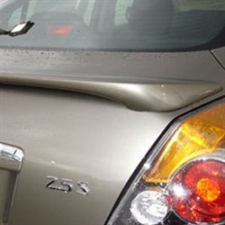 Nissan Altima Sedan Painted Rear Spoiler with Light, 2007, 2008, 2009, 2010, 2011, 2012