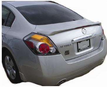 Nissan Altima Sedan Painted Rear Spoiler With Light 2007