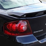 Dodge Avenger 3 Post Painted Rear Spoiler, 2008, 2009, 2010, 2011, 2012, 2013, 2014