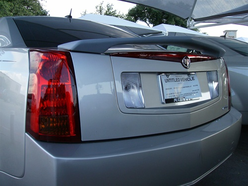 Cadillac Cts Painted Spoiler 2 Post 2003 2004 2005