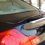 Infiniti G35 / G37 Sedan Painted Rear Spoiler with Light, 2007, 2008, 2009, 2010, 2011, 2012, 2013
