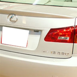 Lexus IS Series Painted Rear Spoiler, 2006, 2007, 2008, 2009, 2010, 2011, 2012, 2013