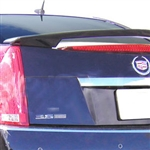 Cadillac CTS Sedan Painted Spoiler (2 Post), 2008, 2009, 2010, 2011, 2012, 2013