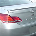 Toyota Avalon Lip Mount Painted Rear Spoiler, 2005, 2006, 2007, 2008, 2009, 2010