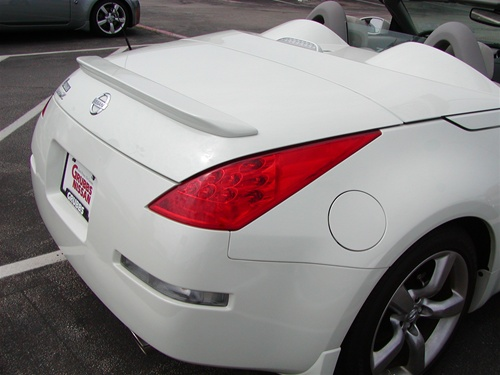 Nissan 350z roadster painted rear spoiler 2003 2004 2005 2006 you sciox Gallery