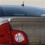 Chevrolet Malibu Lip Mount Painted Rear Spoiler, 2008, 2009, 2010, 2011, 2012