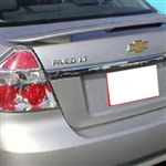 Chevrolet Aveo Sedan 2 Post Painted Rear Spoiler, 2007, 2008, 2009, 2010, 2011