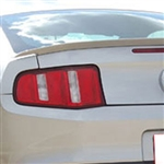 Ford Mustang Painted Rear Lip Mount Spoiler, 2010, 2011, 2012, 2013, 2014