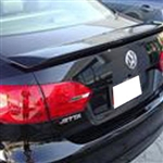 Volkswagen Jetta '2 Post' Painted Rear Spoiler (no light), 2011, 2012, 2013, 2014, 2015
