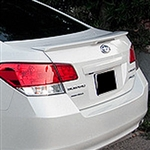 Subaru Legacy Sedan Painted Rear Spoiler (with light), 2010, 2011, 2012, 2013, 2014
