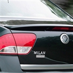 Mercury Milan Hybrid Painted Rear Spoiler, 2010, 2011