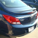 Buick Regal Painted Rear Post Spoiler / Wing, 2011, 2012, 2013