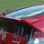Honda CR-Z Lip Mount Painted Rear Spoiler, 2011, 2012, 2013, 2014, 2015, 2016