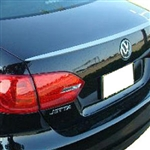 Volkswagen Jetta Lip Mount Painted Rear Spoiler, 2011, 2012, 2013, 2014, 2015, 2016, 2017, 2018