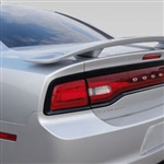 Dodge Charger 2 Post Painted Rear Spoiler, 2011, 2012, 2013, 2014