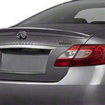 Infiniti M Series Painted Rear Lip Spoiler, 2011, 2012, 2013
