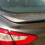 Ford Focus Sedan Painted Rear Spoiler, 2012, 2013, 2014