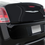 Chrysler 300 Lip Mount Painted Rear Spoiler, 2011, 2012, 2013, 2014, 2015, 2016, 2017