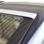 Mercedes E Class Sedan Roofline Painted Rear Spoiler, 2007, 2008, 2009