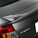 Honda Civic Sedan Lip Mount Painted Rear Spoiler, 2012