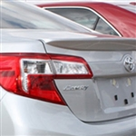 Toyota Camry Lip Mount Painted Rear Spoiler, 2012, 2013, 2014