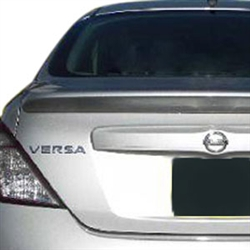 Nissan Versa Sedan Painted Rear Spoiler 2012 2013 2014