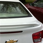Chevrolet Malibu 2 Post Painted Rear Spoiler, 2013, 2014, 2015
