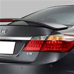 Honda Accord Sedan 2 Post Painted Rear Spoiler, 2013, 2014, 2015, 2016, 2017