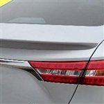 Toyota Avalon Flush Mount Painted Rear Spoiler, 2013, 2014, 2015, 2016, 2017, 2018