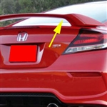 Honda Civic Coupe 'SI Factory Style' Painted Rear Spoiler, 2012, 2013, 2014