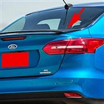 Ford Focus Sedan Painted Rear Spoiler, 2015, 2016, 2017, 2018