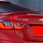 Chevrolet Cruze 2 Post Factory Style Painted Rear Spoiler, 2016, 2017, 2018, 2019
