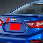 Chevrolet Cruze Lip Mount Factory Style Painted Rear Spoiler, 2016, 2017, 2018, 2019