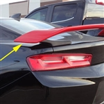 Chevrolet Camaro Custom Style Painted Rear Spoiler, 2016, 2017, 2018, 2019