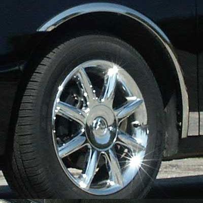 2005-2009 Buick Lacrosse 4Pc Chrome Pillar Post Stainless Steel Trim Door Cover